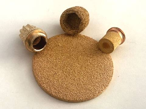 Sintered Copper Filter Elements - Petrochemical Filtration