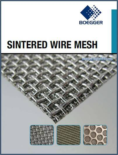 A PDF file for sintered mesh filter and sintered fiber.